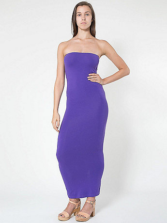 Cotton Spandex Jersey Tube Dress