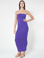 Cotton Spandex Jersey Tube Dress