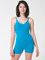 Cotton Spandex Jersey Short Unitard