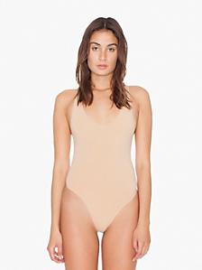 Cotton Spandex Jersey Tank Thong