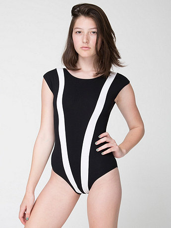 Cotton Spandex Jersey Gloria-V Bodysuit
