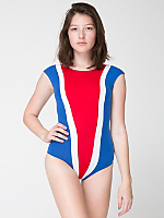 Cotton Spandex Jersey Gloria-V Bodysuit