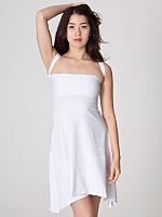 Cotton Spandex Jersey Bandeau Dress
