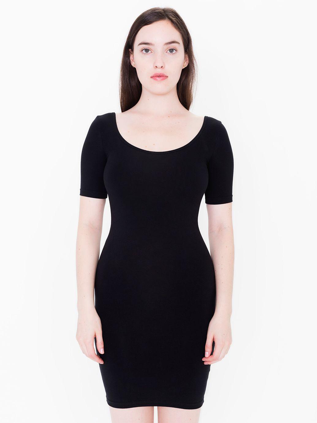 Black Spandex Dress 39SDXFbr