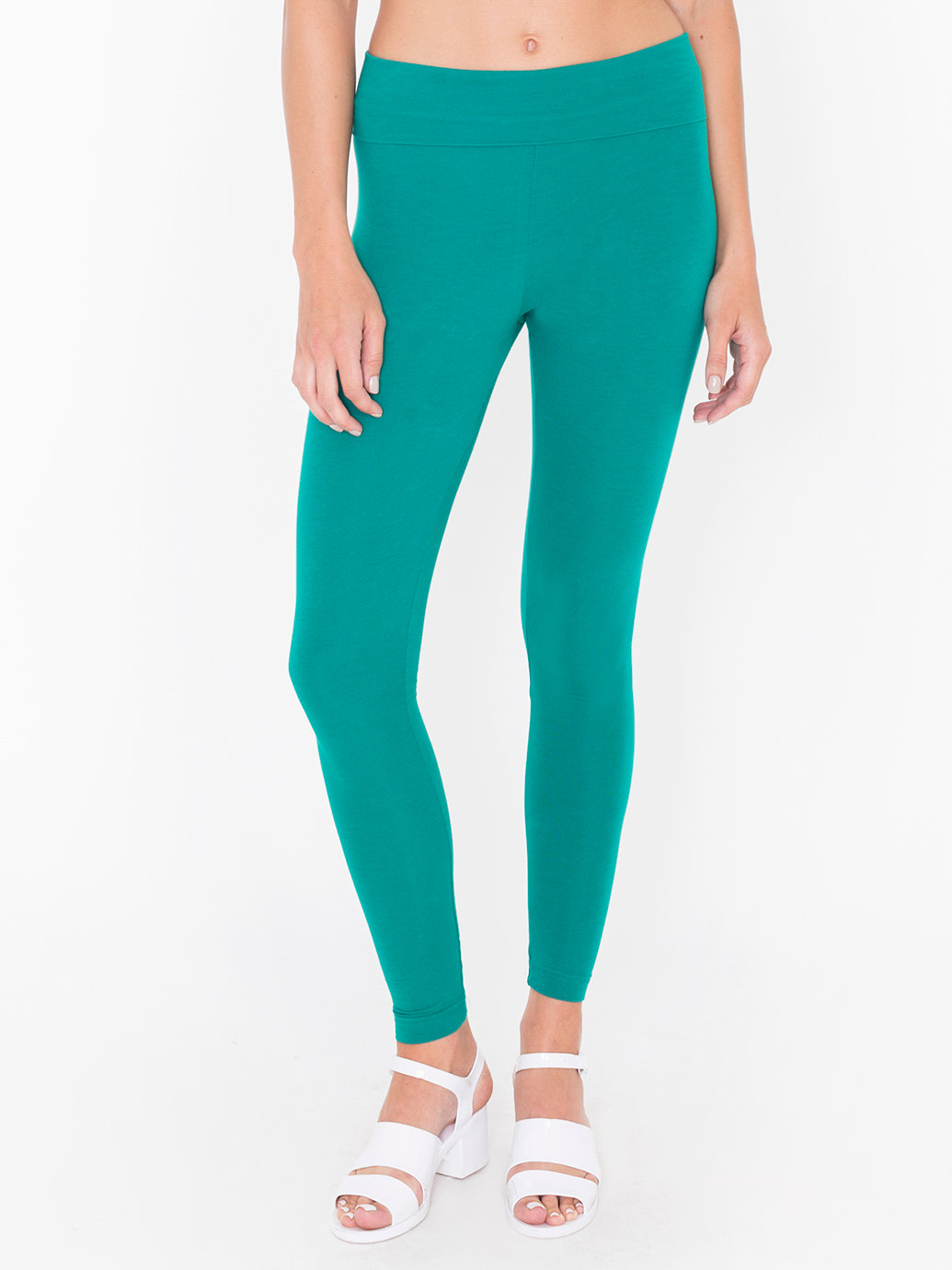 High Waisted Spandex Leggings - Baggage Clothing