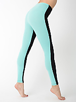 Cotton Spandex Jersey Two-Sided Leggings
