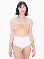 Cotton Spandex Jersey High-Waist Brief