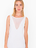 Cotton Spandex Sleeveless Gloria-V Dress