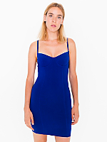 Cotton Spandex Jersey Underwire Bustier Dress