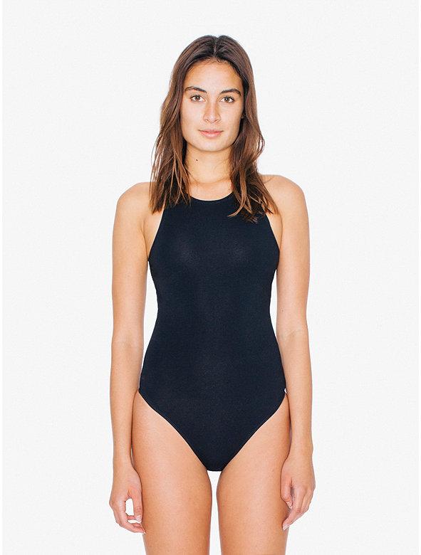Cotton Spandex Sleeveless Bodysuit
