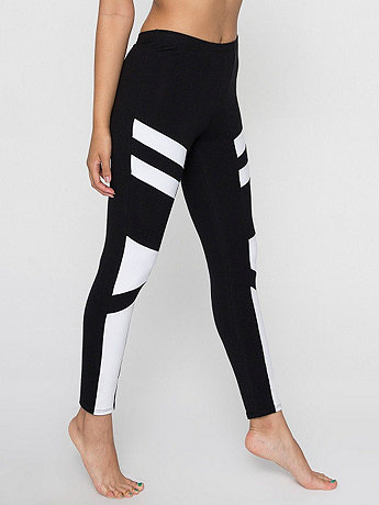 Cotton Spandex Design Legging