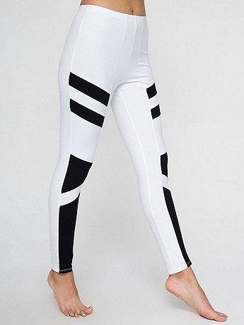Cotton Spandex Design Legging