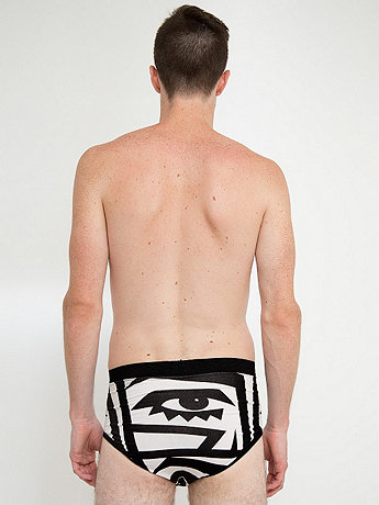 KESH X American Apparel Cotton Spandex Mens Brief