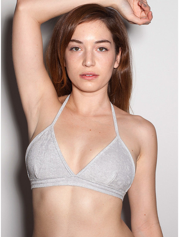 Loop Terry Halter Bra