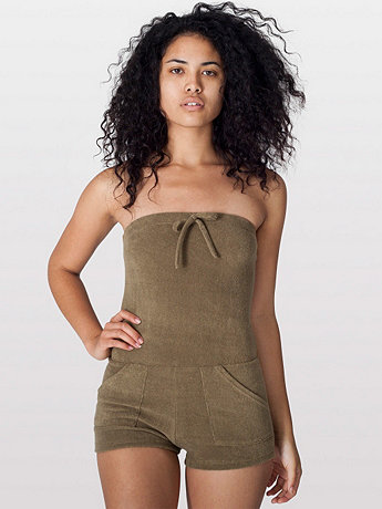 Loop Terry Romper