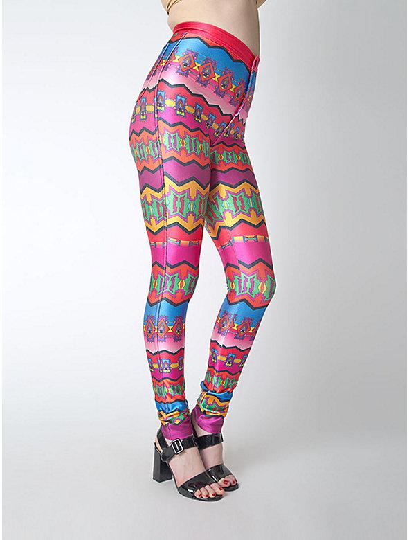 Printed Disco Pant
