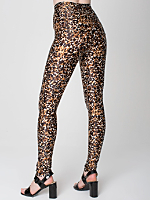 Watercolor Cheetah Printed Disco Pant