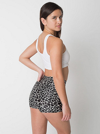 Giraffe Printed Disco Short