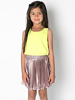 Kids Accordion-Pleat Skirt