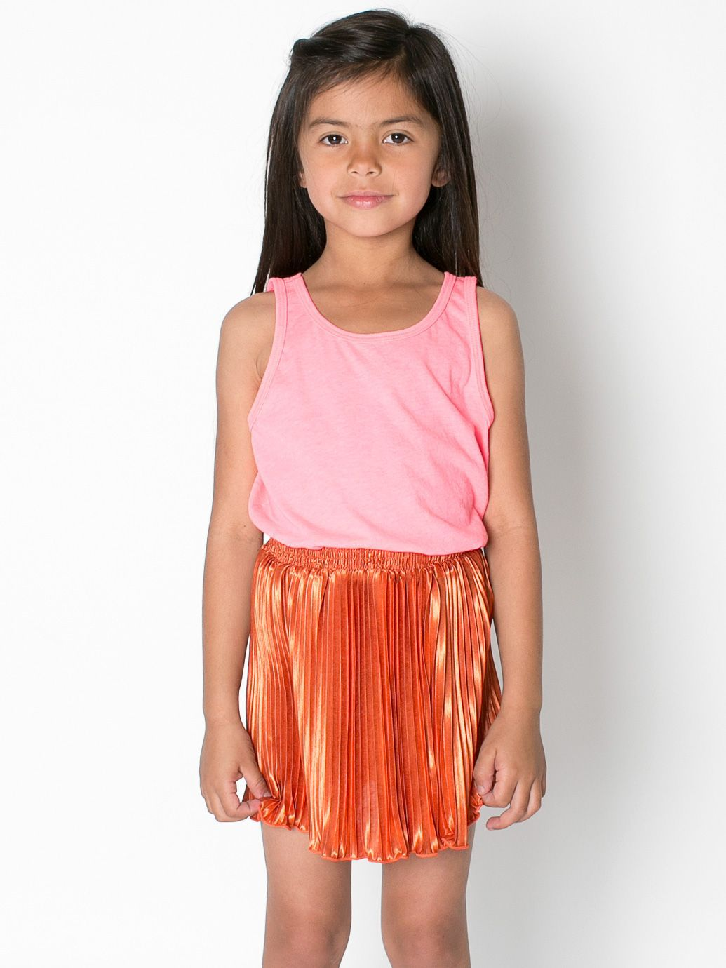 Kids' Accordion-Pleat Skirt