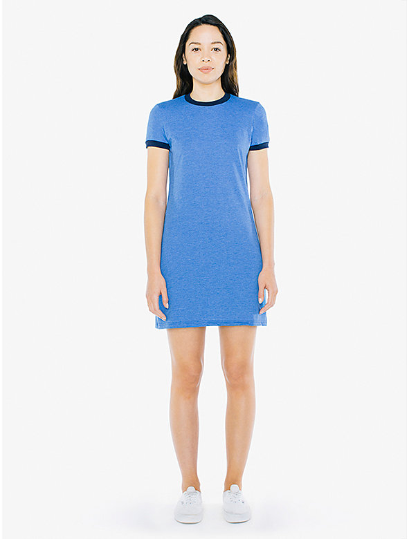 50/50 Ringer T-Shirt Dress