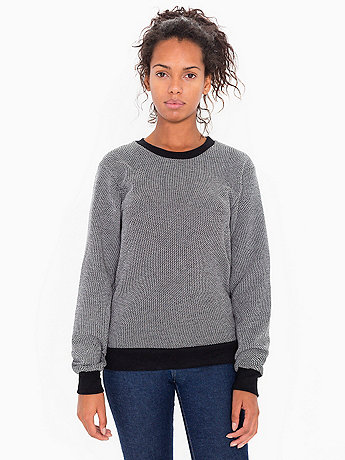 Unisex Birdseye Fleece Drop-Shoulder Pullover
