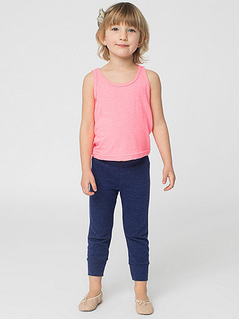 Kids Tri-Blend Rib Legging