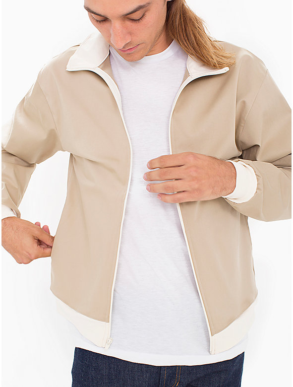Sateen Blend Windbreaker