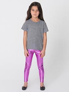 Kids' Shiny Leggings