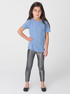Kids' Printed Shiny Leggings