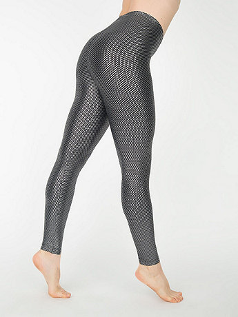 Printed Shiny Legging