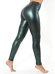 Shiny Metallic Legging