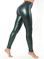 Shiny Metallic Legging