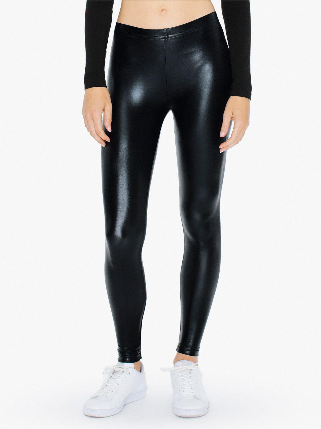 metallic legging american apparel