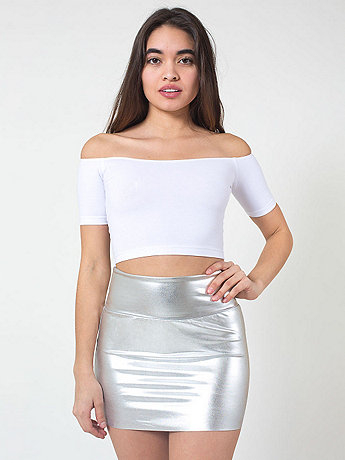 Shiny Late Night Mini Skirt