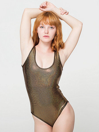Shiny Tank Bodysuit