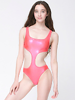 Metallic Chic Swimsuit