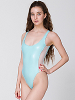 Shiny Mesh Malibu One-Piece