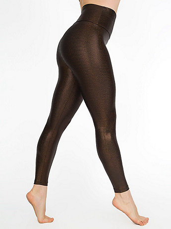 Shiny High-Waist Legging