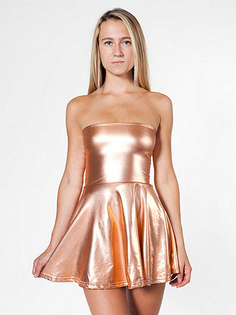Shiny High-Waist Skirt
