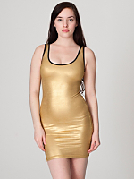 Shiny Tank Pencil Dress