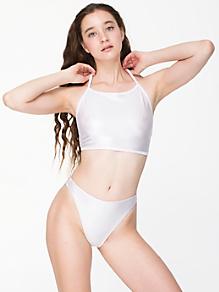 Shiny High Rise Bikini Bottom