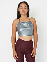 Shiny Halter Top
