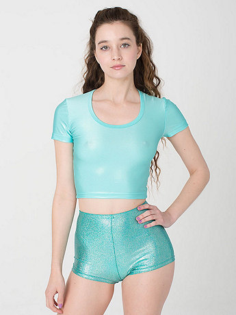 Shiny Crop Tee