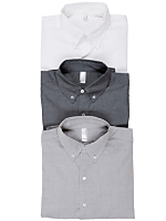 Pinpoint Oxford Short Sleeve Button-Up Shirt (3-Pack)