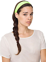 Wide Nylon Tricot Headband