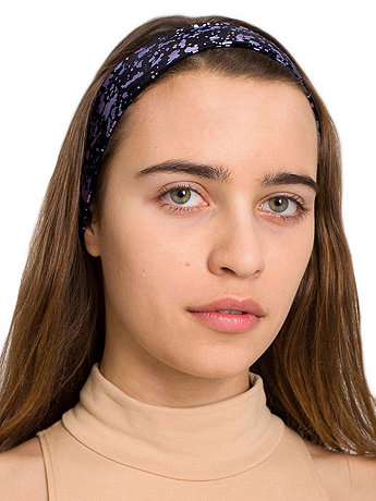 Wide Nylon Tricot Headband