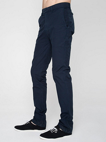 Cotton-Nylon Blend Travel Pant