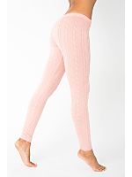 Acrylic Blend Cable Knit Legging
