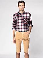 Stretch Corduroy 5-Pocket Short